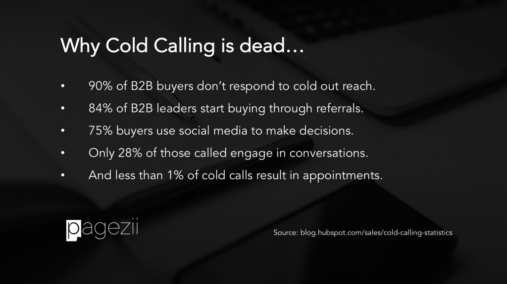 Why cold calling is dead in 2017