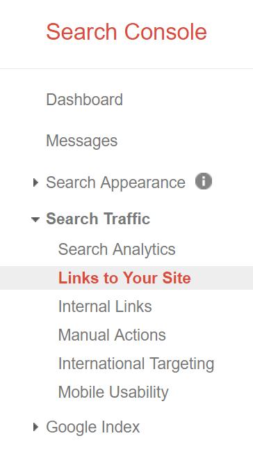 Backlink Quality Google Webmaster Links Site Walkthrough