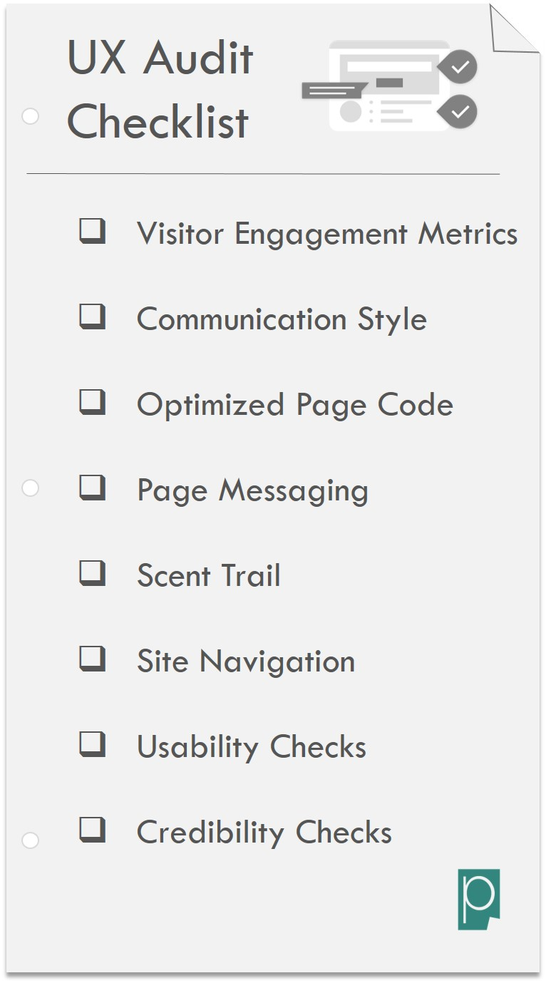 UX Audit Template UX Audit Checklist Pagezii Digital Marketing Blog