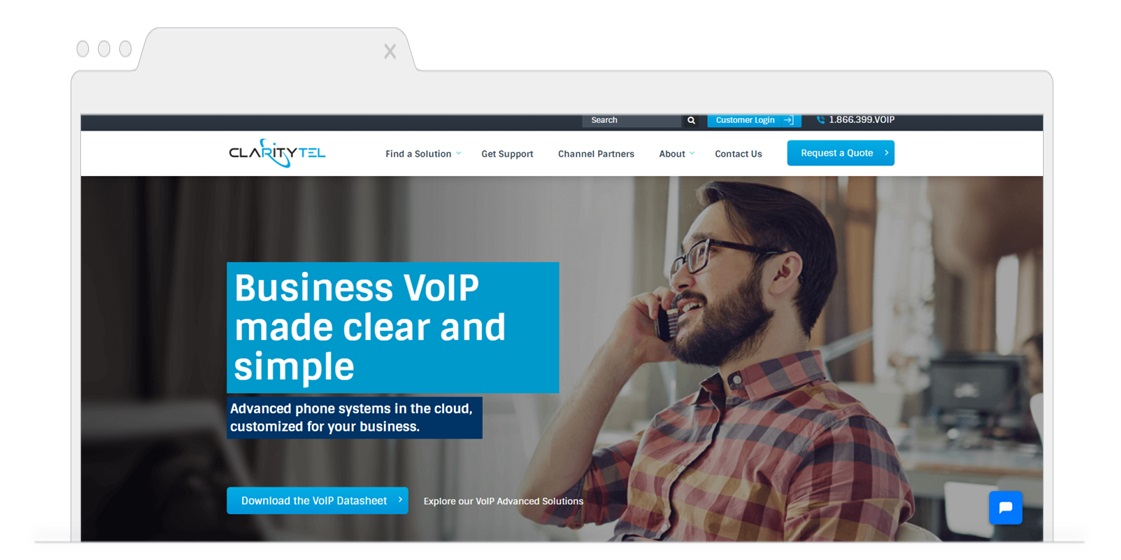 Top picks for Business VoIP-ClarityTel-Pagezii