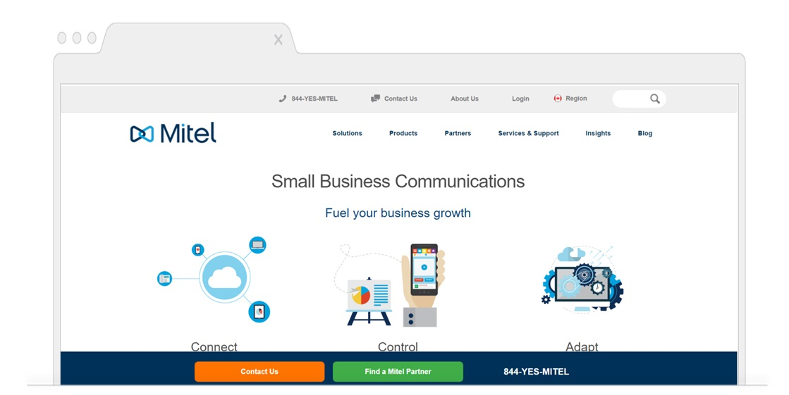 Top picks for Business VoIP-Mitel-Pagezii