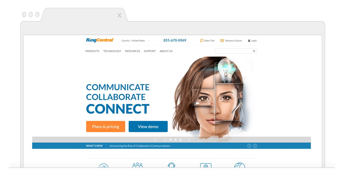 Top picks for Business VoIP-RingCentral -Pagezii