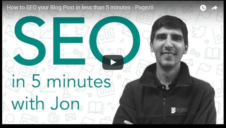 Benefits of Search Engine Optimization SEO Blog Posts 5 minutes Pagezii SEO Blog