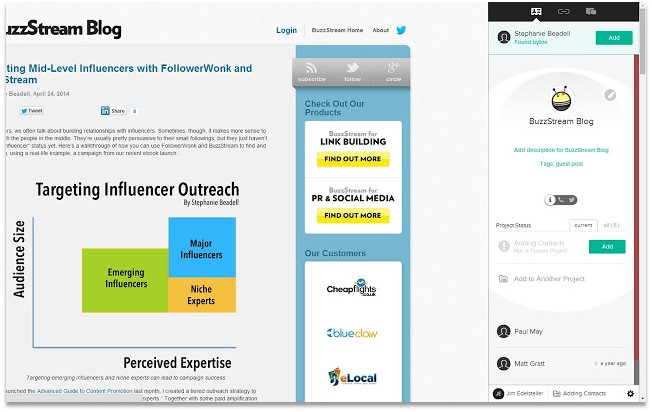 Digital Marketing Chrome Extensions Buzzmaker Pagezii Digital Marketing Blog