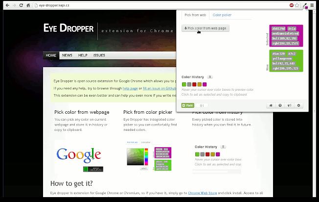 Digital Marketing Chrome Extensions Eye Dropper Pagezii Digital Marketing Blog