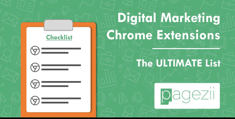 Digital Marketing Chrome Extensions The Ultimate List Pagezii Digital Marketing Blog