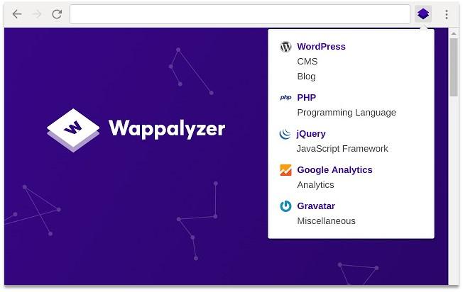 Digital Marketing Chrome Extensions Wappalyzer Pagezii Digital Marketing Blog