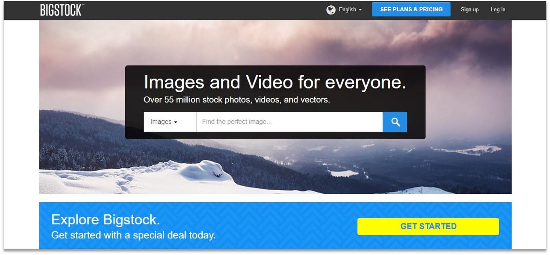 Bigstock blogging tools for beginners