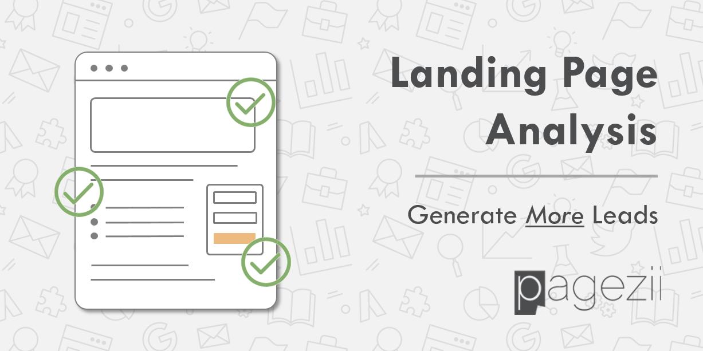 Landing Page Analysis Share Image