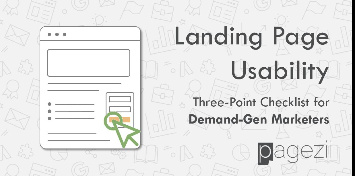 Landing Page Usability Share Image