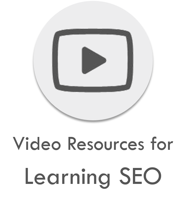 Video Resources for learning SEO list