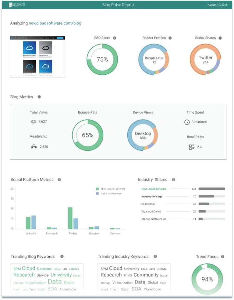 SEO Keyword Strategies blog analysis tool overview
