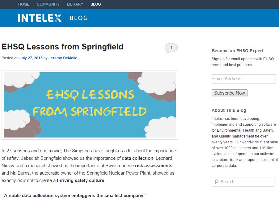 intelex-blog