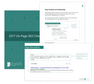 On Page SEO Checklist Pagezii Download Resource