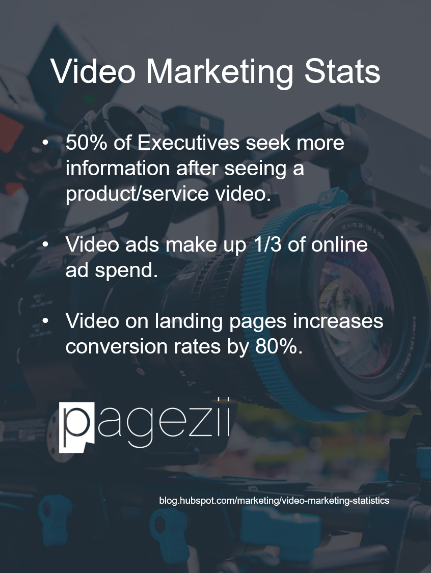 Pagezii Pro Interview Video Marketing Stats