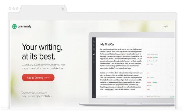 Online-Grammar-Spelling-Punctuation-tools - grammarly