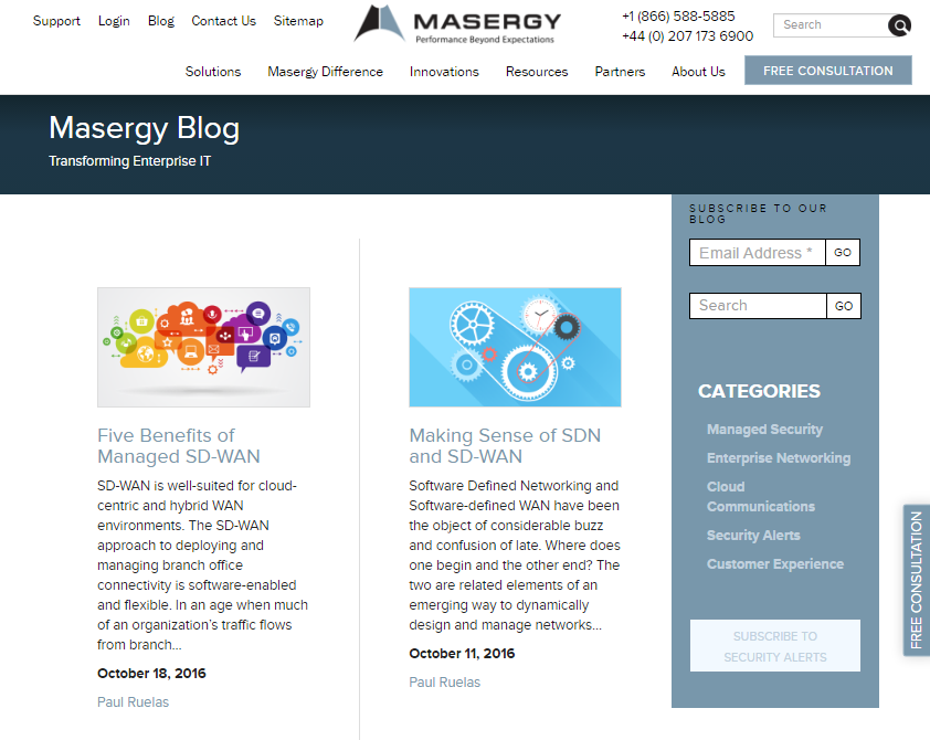 Pagezii Monthly Blog Roundup November Masergy Blog