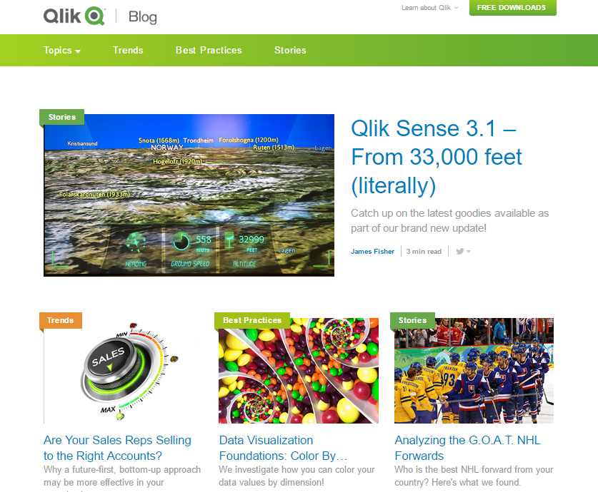 Pagezii Monthly Blog Roundup Qlik Blog