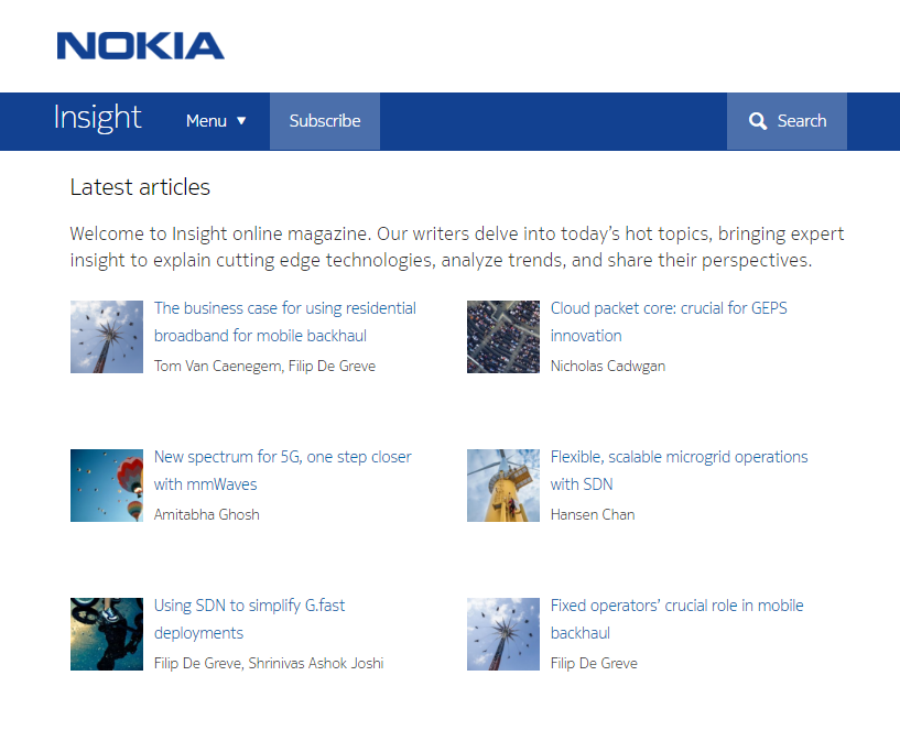 Monthly Blog Roundup Nokia Insight Blog Author Diversity Example