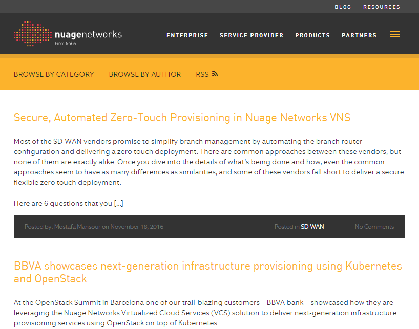 Monthly Blog Roundup Nuage Networks Tailored Writing Example