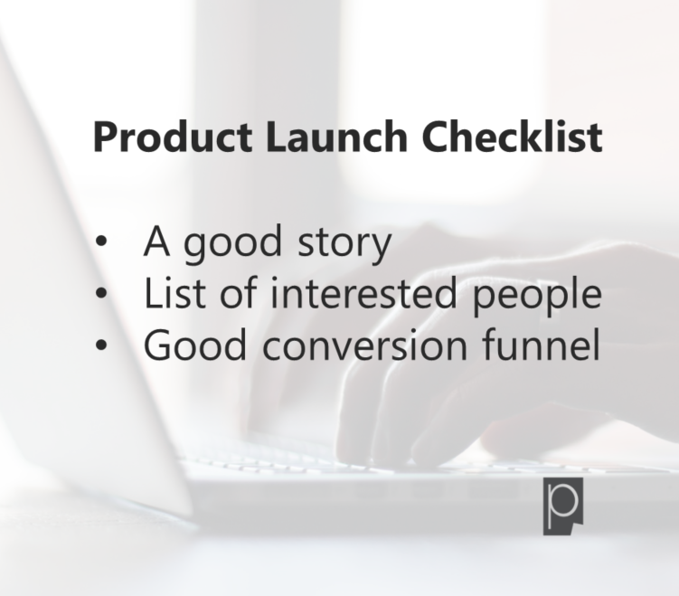Product Launch Checklist -Erin Blaskie- Pagezii