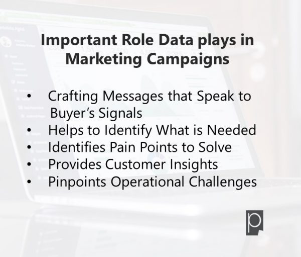 Importance of Data in Marketing campaigns -Pagezii Feature