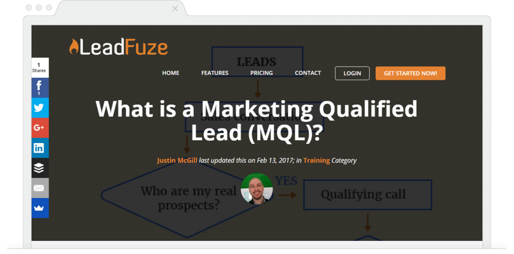 LeadFuze Blog What Is MQL Justin McGill