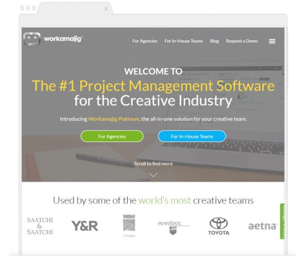 Best Project Management App for the Marketing Team- Workamajig