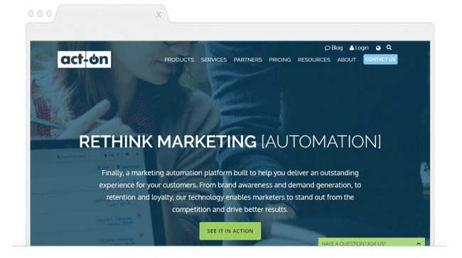 Marketing Automation Tools-Act-on