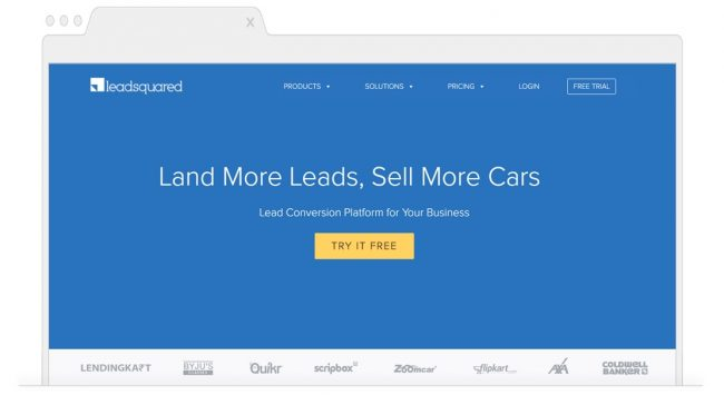 Marketing Automation Tools-Leadsquared