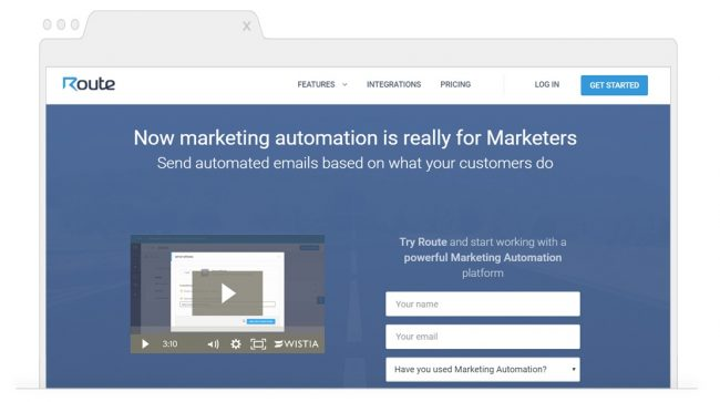 Marketing Automation Tools-Route