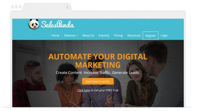 Marketing Automation Tools-SalesPanda