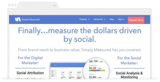 Social Media Analytics Tools-Simply Measured