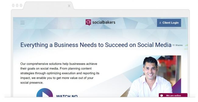 Social Media Analytics Tools-socialbakers