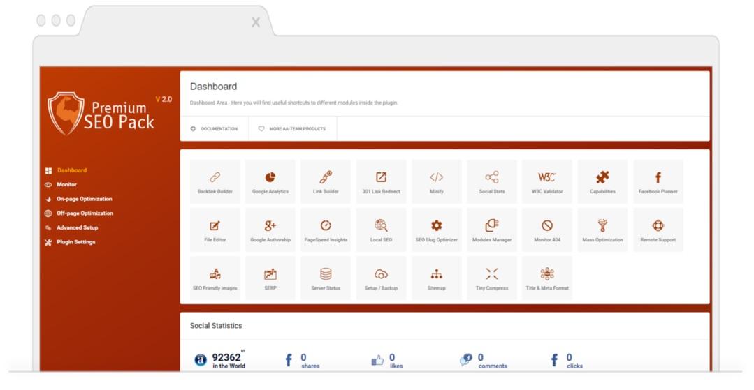 Top SEO Plugins for WordPress-PremiumSEO-Pack