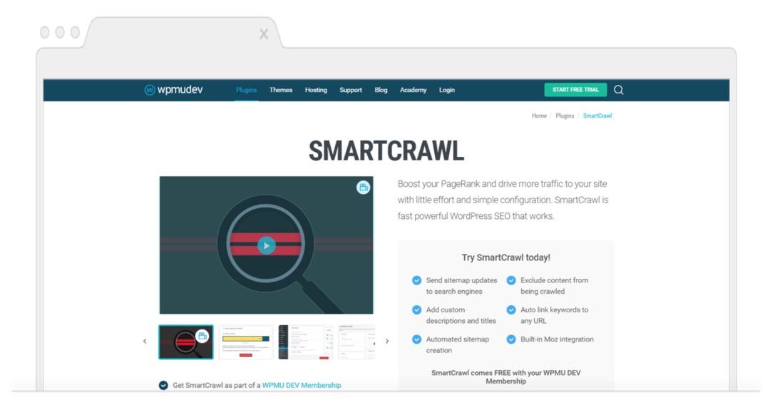 Top SEO Plugins for WordPress-Smartcrawl
