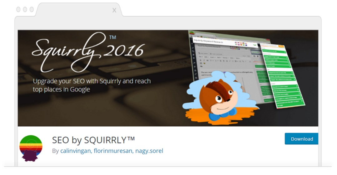 Top SEO Plugins for WordPress-Squirrly