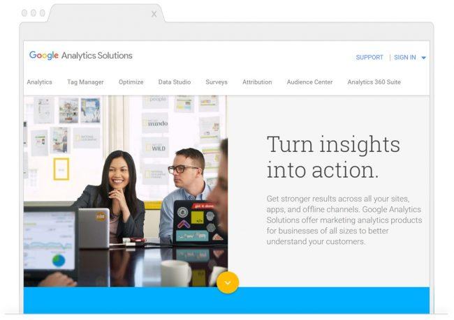 web analytics tools- Google Analytics