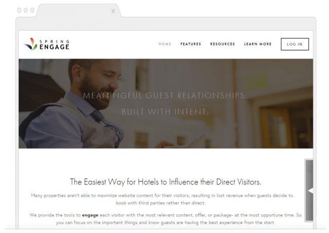web analytics tools- Spring Engage