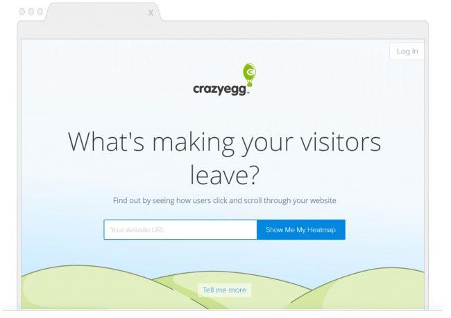web analytics tools- crazyegg
