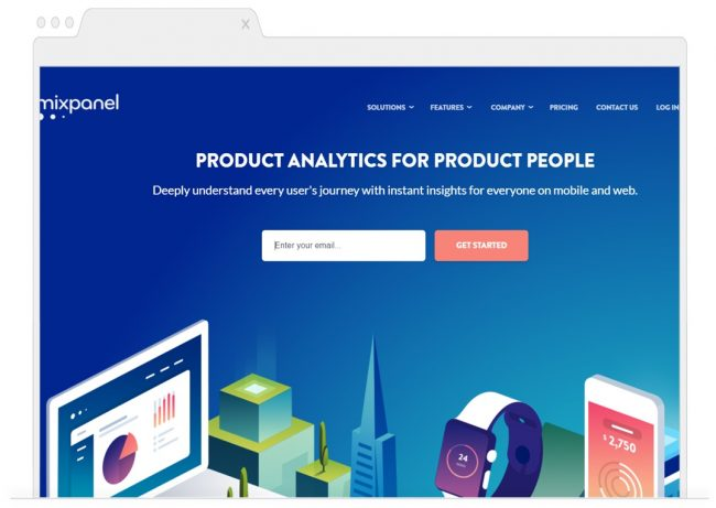 web analytics tools- mixpanel