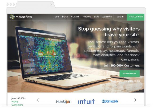 web analytics tools- mouseflow