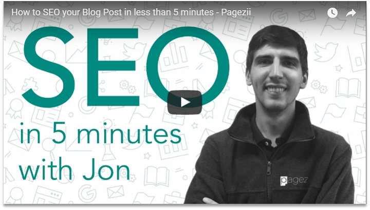 Benefits of Search Engine Optimization SEO Blog Posts 5 minutes Pagezii SEO Blog