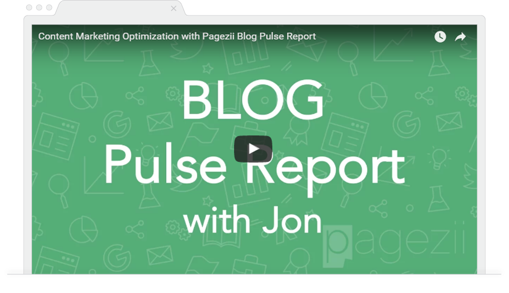 Blog Metrics blog performance metrics Blog Pulse Report Walkthrough tutorial