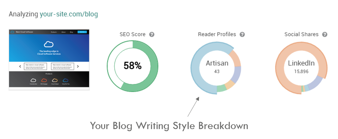 Blog Writing Best Practices Reader Profile Breakdown Pagezii Blog Pulse Report