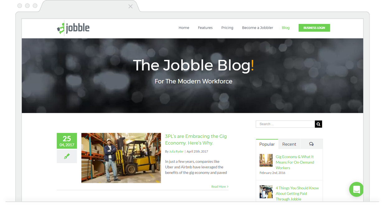 Monthly Blog Roundup May Jobble Blog
