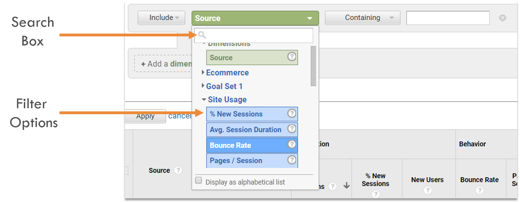 How to Check Backlinks in Google Analytics Advanced Technique Three Advanced Filter Options