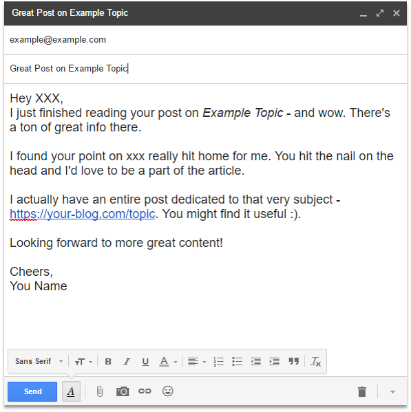 Off-Page SEO Techniques Email Outreach for Link Building Pagezii Digital Marketing Blog