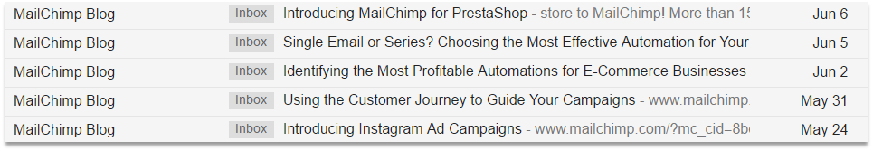 Off-Page SEO Techniques MailChimp Blog Email Marketing