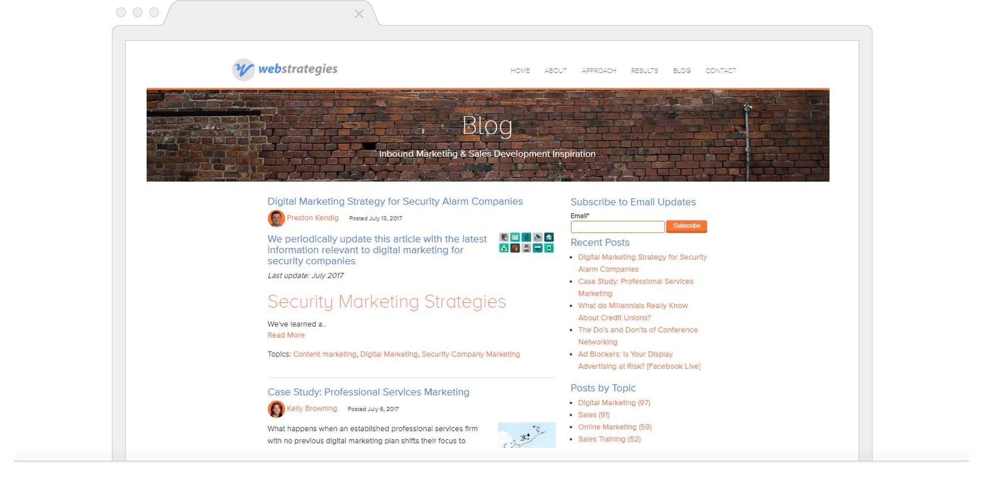 Monthly Blog Roundup WebStrategies
